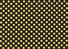 Spot On Metallic Dots Black