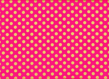 Spot On Metallic Dots Pink