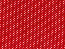Spot On Pin Dots Cotton Red