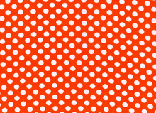 Spot On Polka Dots Orange