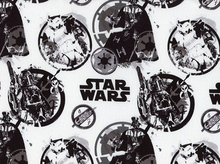 Star Wars & Star Trek Fabric