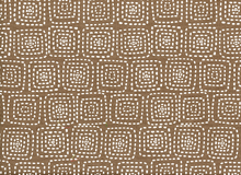 Stitch Square Cotton Brown