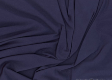 Stretch Bamboo Knit Fabric Navy