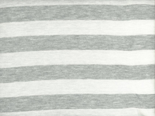 Stripe Knit Jersey Grey