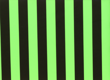 Stripe Tricot Neon Green Swimwear