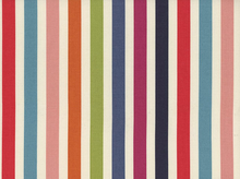 Dear Stella Stripes Cotton Fabric Multi