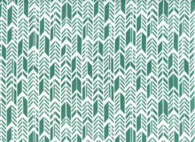 Sun Print Feathers Cotton Teal