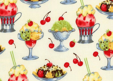 Sundaes Ice Cream Fabric