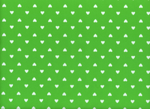 Swimwear Hearts Lime Green