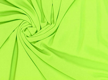 Swimwear Lining Knit Fabric Lime Green