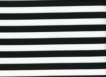 Swimwear Stripe Black