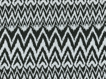 Textured Aztec Knit Black and White