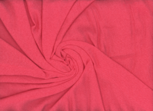 Textured Rayon Crepe Coral