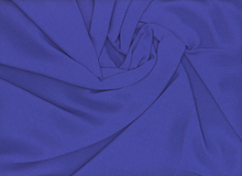 Textured Rayon Crepe Royal