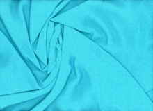 Textured Rayon Crepe Turquoise