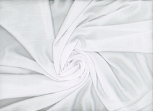 Textured Rayon Crepe White