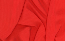 Textured Rayon Fabric Red