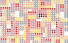 Timeless Treasures Robot Dots Fabric White