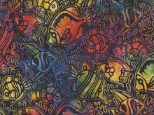 Totally Tropical Fish Batik Pacific