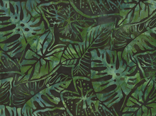 Totally Tropical Leaves Batik Palm