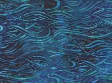 Totally Tropical Waves Batik Regatta