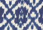 True Caravan Ikat Home Decor Fabric True Blue