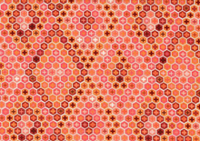 Tula Pink Salt Water Tortoise Shell Cotton Coral