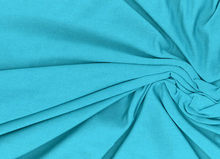 Turquoise Modal Knit Fabric