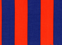 Two by Two Cotton Stripe Red Navy