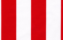 Two by Two Stripe Red and White