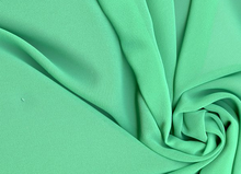 Vanessa High Quality Emerald Green Chiffon