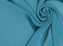 Vanessa High Quality Teal Chiffon