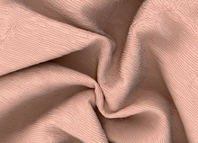 Vanessa Plisse Fabric Rose