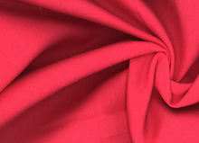 Vavaldi Linen Fabric Red