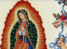 Alexander Henry Virgin of Guadalupe Cotton Tea
