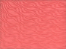 Waves Pleated Chiffon Coral