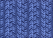 What a Gem Geometric Braid Navy