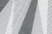 White Nylon Spandex Mesh Fabric