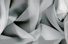 White Silk Chiffon Fabric