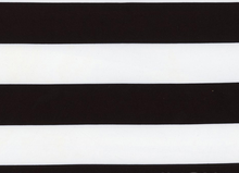 Wide Stripe Knit Black & White