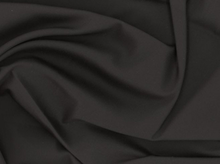 Woven Cotton Spandex Black