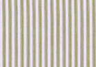 Woven Cotton Ticking Fabric Natural & Khaki