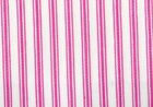 Woven Cotton Ticking Fabric Pink