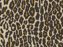 Woven Leopard Coating Natural
