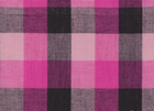 Yarn Dyed Punky Plaid Fabric Pink