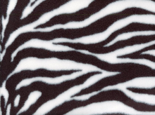 Zebra Print Fleece