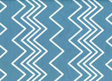 Ziggy Chevron Cotton Blue