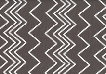 Ziggy Chevron Cotton Grey