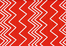Ziggy Chevron Cotton Orange