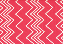 Ziggy Chevron Cotton Pink